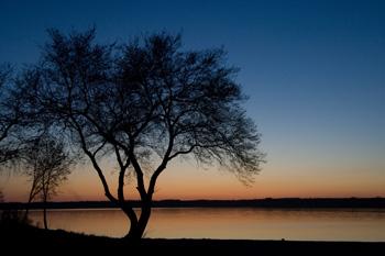 Regina Beach sunset