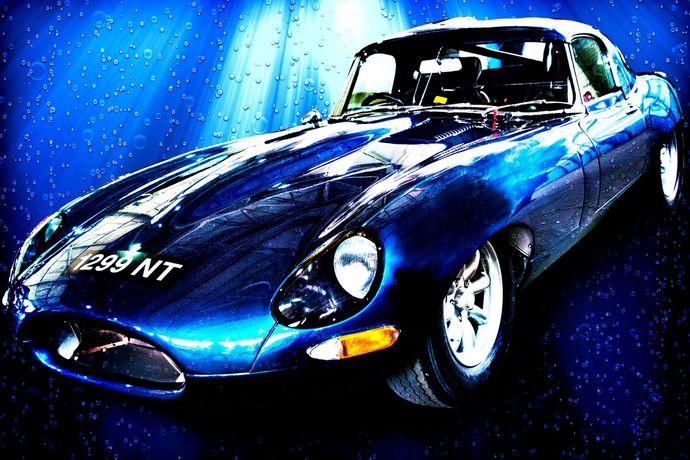 E Type race car