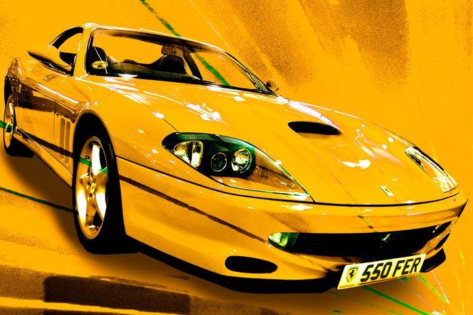 Ferrari 550 (yellow)