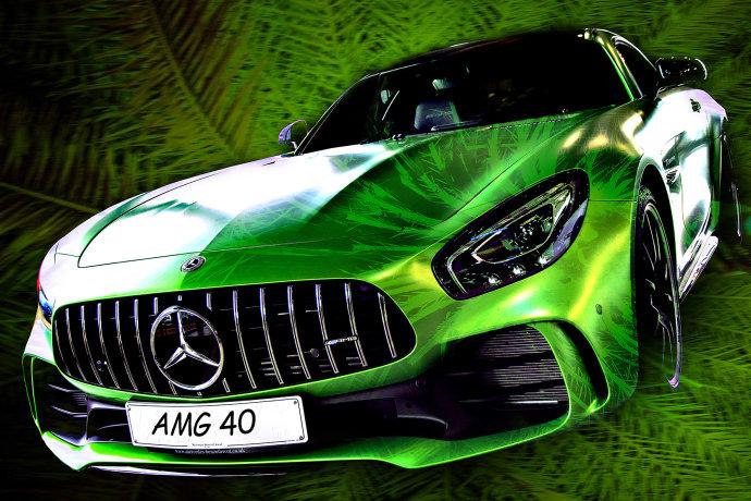 Mercedes AMG 4.0 GTR