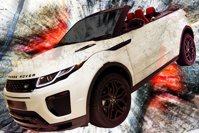 Range Rover Evoque (two)