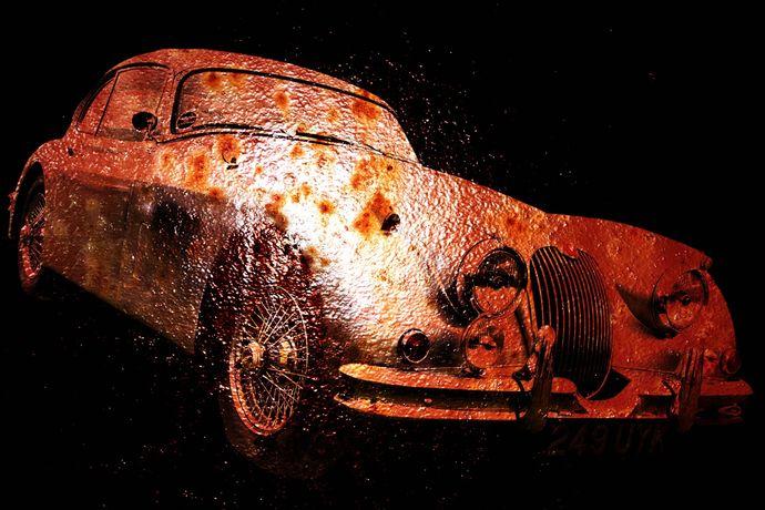 XK150 rust