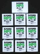 ILFORD HP5 PLUS 35MM FILM 36 EXPOSURES X 10 ROLLS £48.95