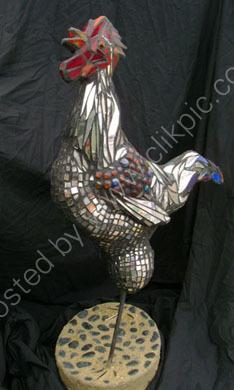 Mosaic Cockerel   SOLD
