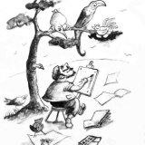 John Gould painting rare birds