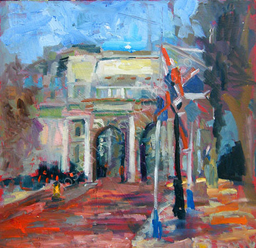 London Prepares.2.,   The  Mall;  Jubilee 2012   SOLD