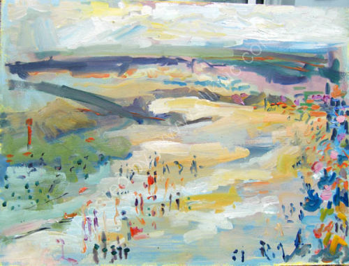 lyme beach 13 4   SOLD