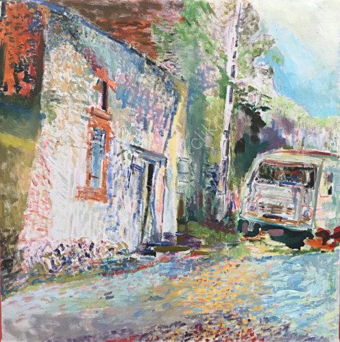 Le vieux Camion de Monsieur Robert