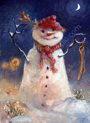 Robin' s  Snowman NFS