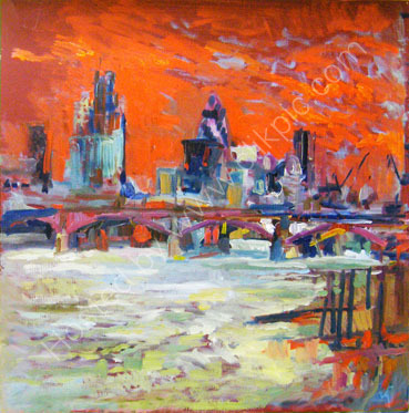 south bank study 3 SOLD