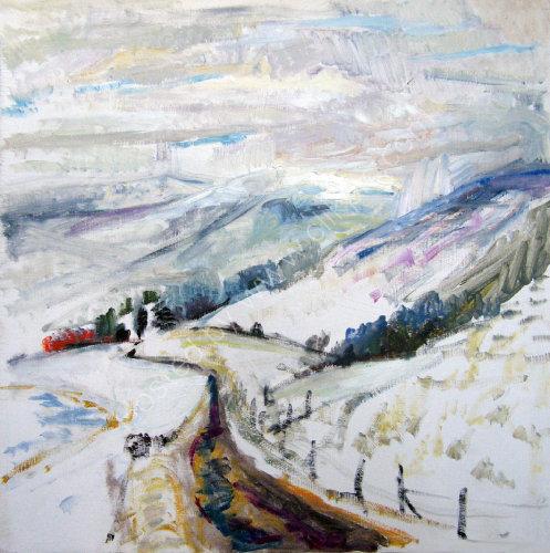 Glen Clova    Christmas snow   SOLD