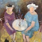 Ladies with lavender