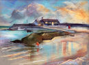 Winter the Cobb; Lyme Regis   SOLD