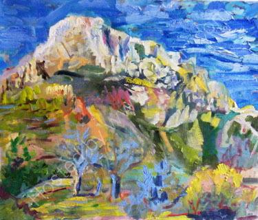 Mont St. Victoire  SOLD