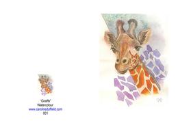 GIRAFFE A6 CARD