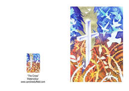The Cross Easter Card A6