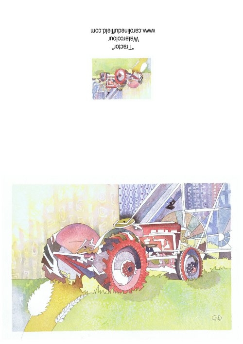 Tractor A6 Card