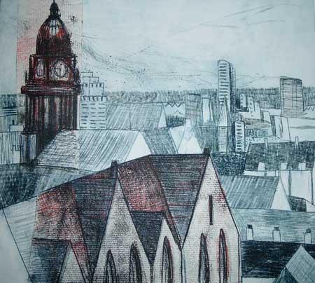 Leeds rooftops VI