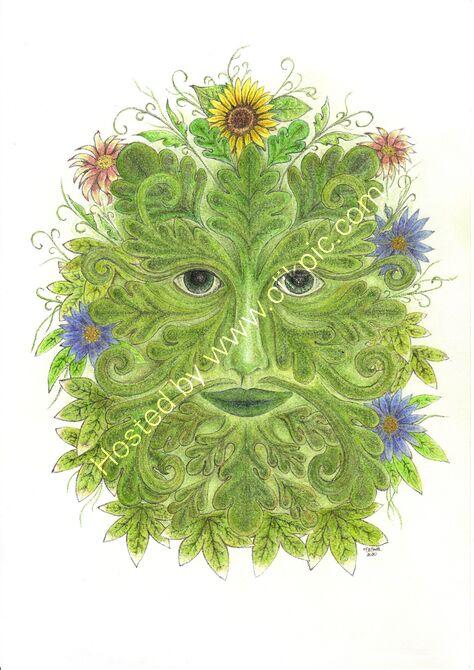Green Man - Summer