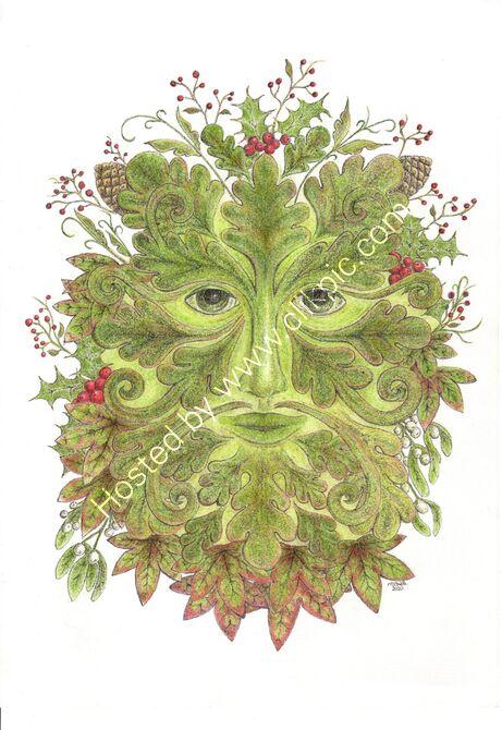 Green Man - Winter