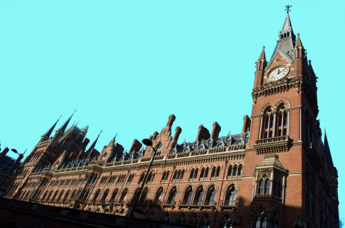 St Pancras Hotel & Station, London