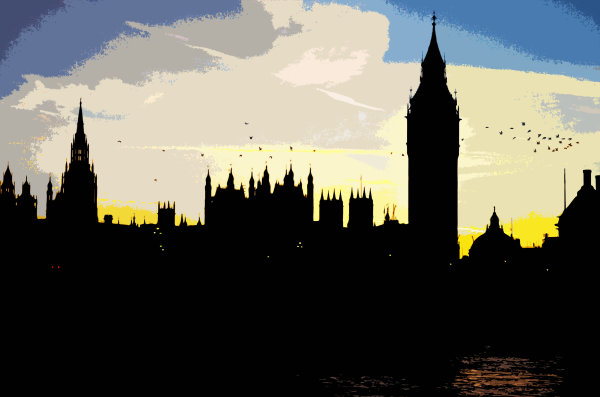 Parliament Sunset