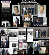 Set Photography for 'The Pavement Psychologist'-directed by Idris Elba for Sky Arts