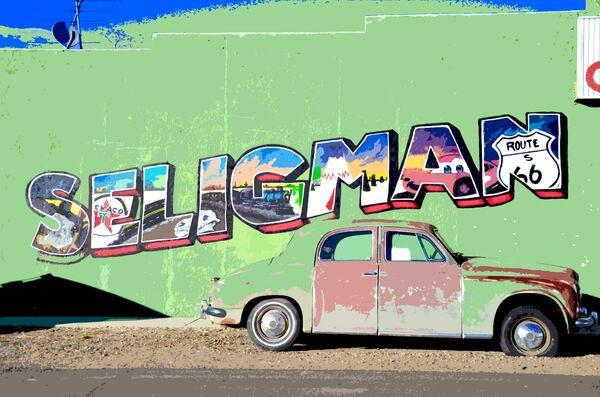 Seligman, Route 66
