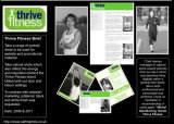 Thrive Fitness Promotional Material