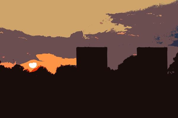 Sunset over Wanstead Flats
