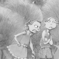Gretel berates Hansel