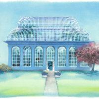Palm House at Royal Botanical Gardens, Edinburgh