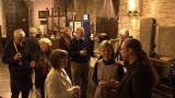 The opening of the Cathy Wilson Lancaster Priory Exhibition 2016
