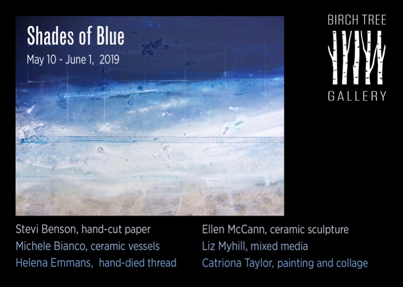 Birch Tree Gallery - ad Shades of Blue
