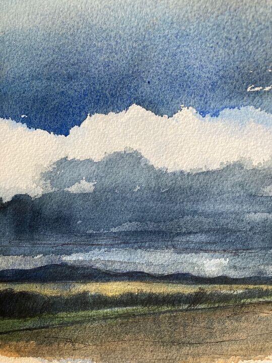 Storm Coming In Over the Pentlands