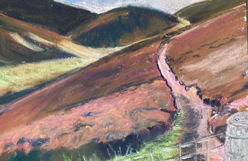 Path to Carnethy Hill.