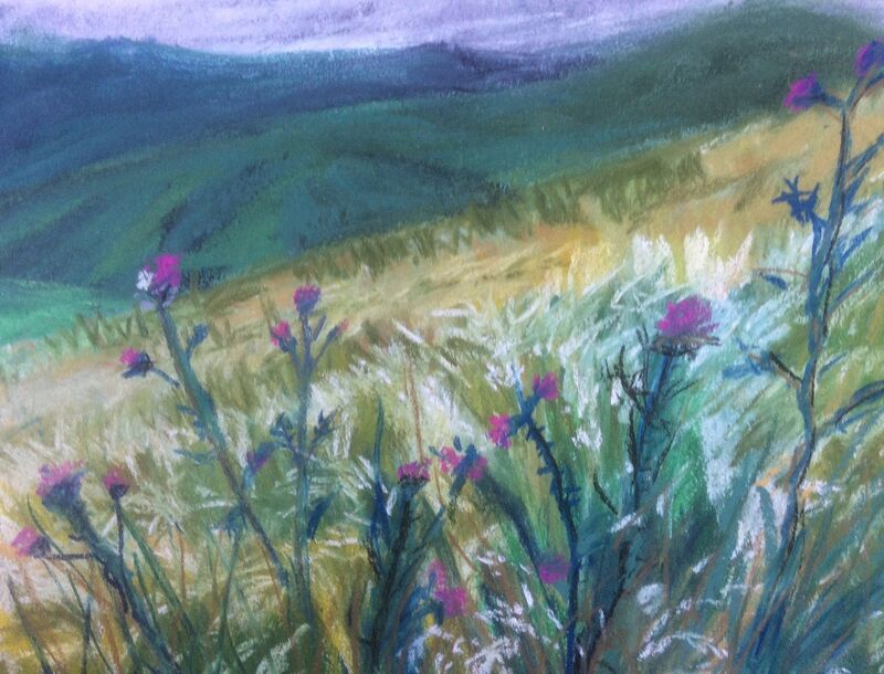 Pentlands and Thistles