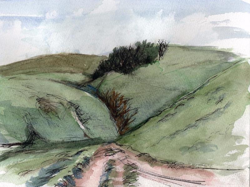 Pink Path, Pentland Hills