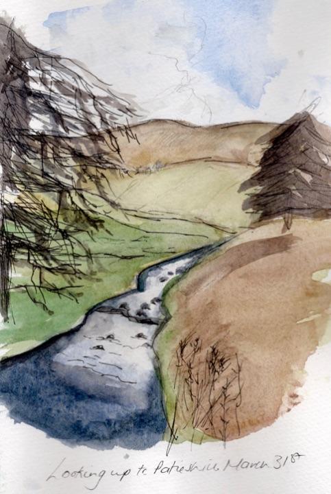 North Esk Burn and Patieshill
