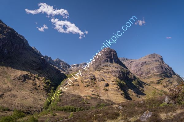 Coire Gabhail, Glencoe. The Lost Valley
