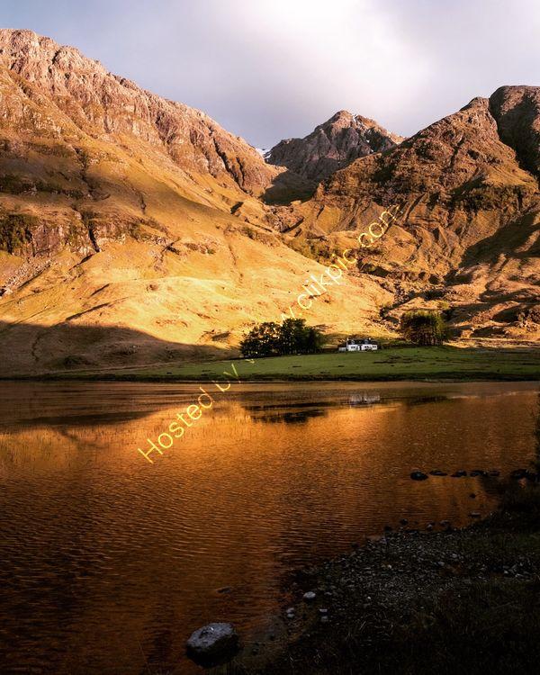 Evening Light, Glencoe