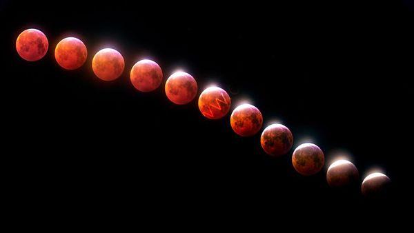 Lunar Eclipse - Wolf Moon 2019