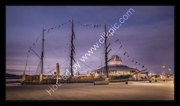 Rss Discovery, Blue Hour, Dundee
