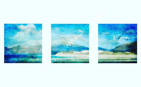 Luskentyre triptych
