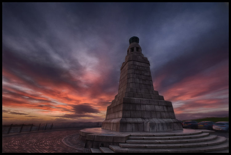 Sunset, Dundee Law