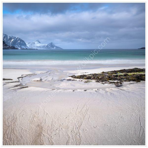 Vik Beach, Lofoten12x12