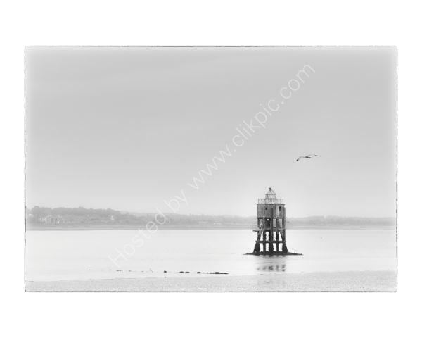 Pile Lighthouse, Tayport, Fife-10x8