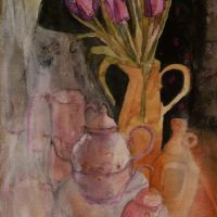 Tulips and Teapot