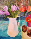 Tulips in the Tarleton Jug (original)