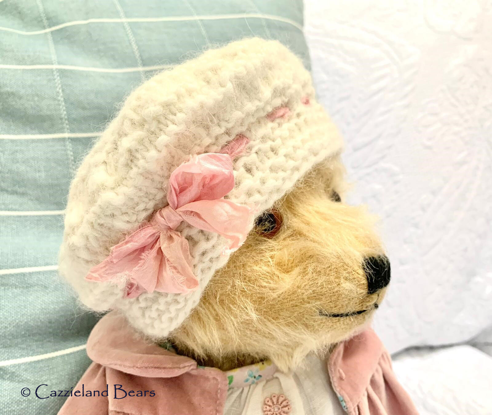 """Molly is a 16"""" 1940's Bear....she has now been adopted"""